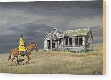 Horseman Wood Prints