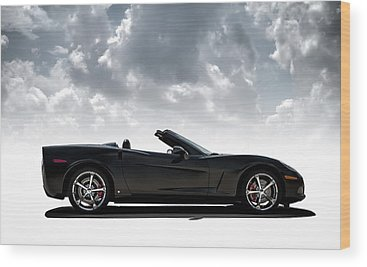 Chevy Corvette Wood Prints