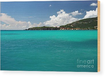 Sint Maarten Wood Prints