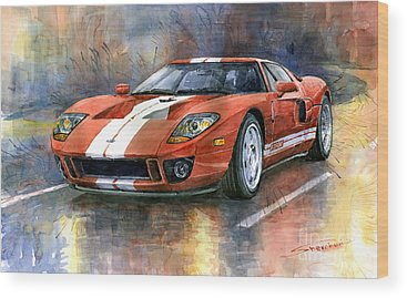Classic Car Wood Prints