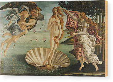 Sandro Botticelli Wood Prints