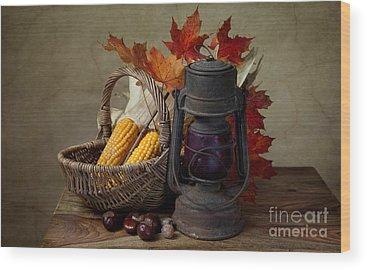 Corn Photographs Wood Prints