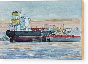 Tanker Wood Prints