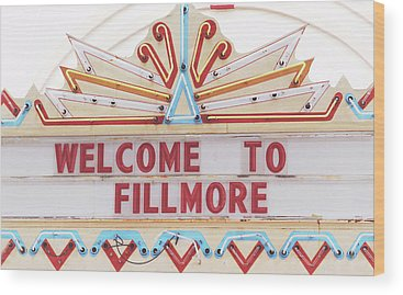 Fillmore Photographs Wood Prints
