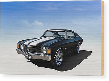 Chevy Chevelle Wood Prints