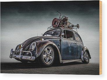 Antique Car Wood Prints