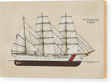 Coast Guard Wood Prints