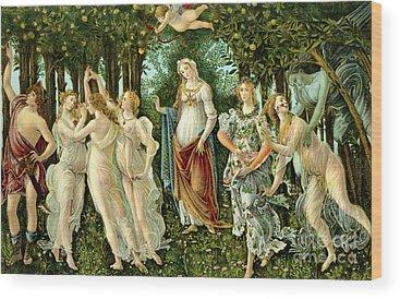 Botticelli Wood Prints