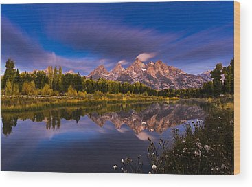 Snake River Wood Prints
