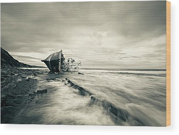Shipwreck Wood Prints