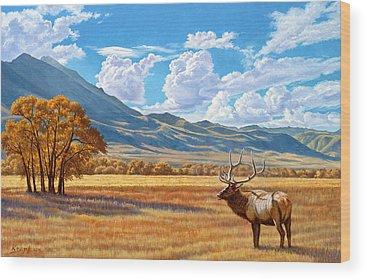 Montana Wood Prints