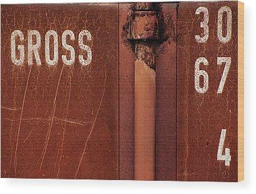 Rusted Metal Wood Prints