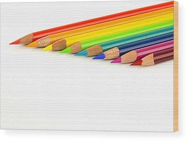 Color Image Wood Prints