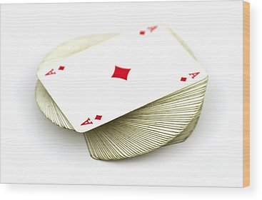 Playing Cards Wood Prints
