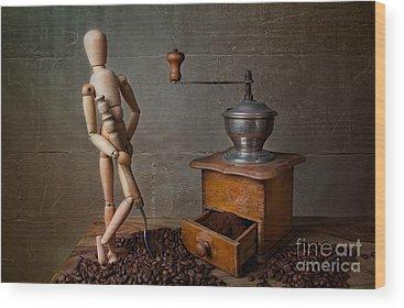 Coffee Grinder Wood Prints