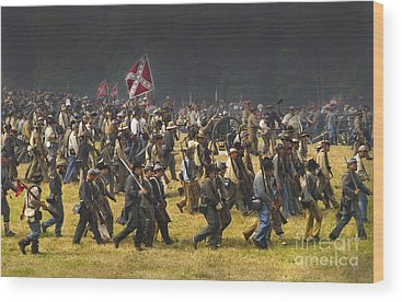 Gettysburg Battlefield Photographs Wood Prints