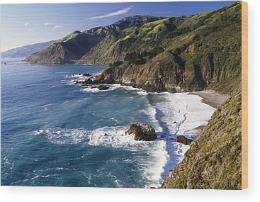 Big Sur Wood Prints
