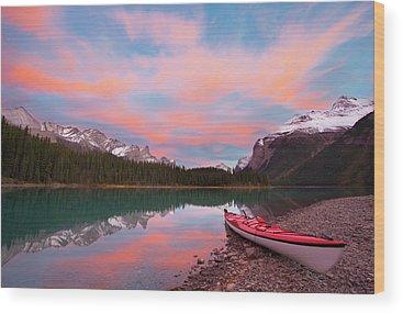 Kayaks Wood Prints