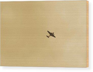 Ju 52 Wood Prints