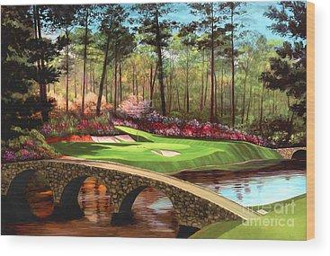 Golf Wood Prints