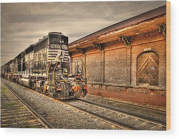 Norfolk Southern Railway Wood Prints