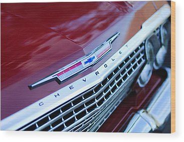 Chevrolet Impala Wood Prints