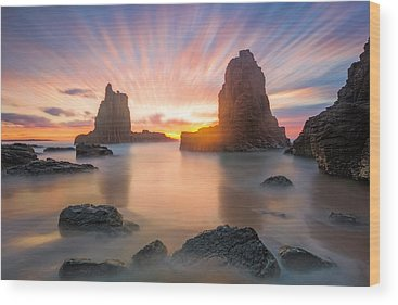 Cathedral Rock Wood Prints