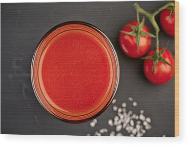 Cherry Tomato Wood Prints
