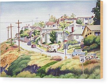 Missions San Diego Wood Prints