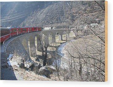 Bridge Travelpics Wood Prints