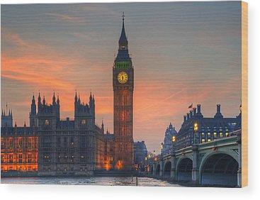 City Of London Wood Prints
