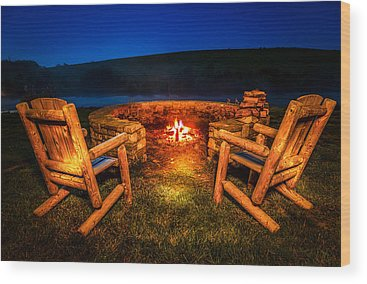 Bonfire Wood Prints
