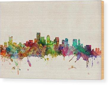 Boston Wood Prints