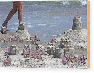 Sand Castle Wood Prints