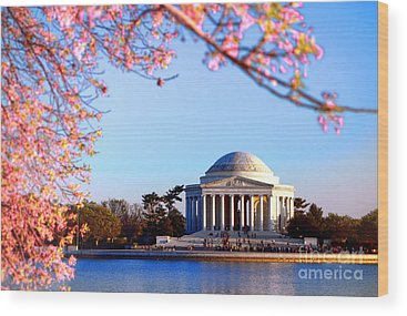 Jefferson Memorial Wood Prints