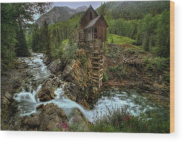 Crystal Mill Wood Prints
