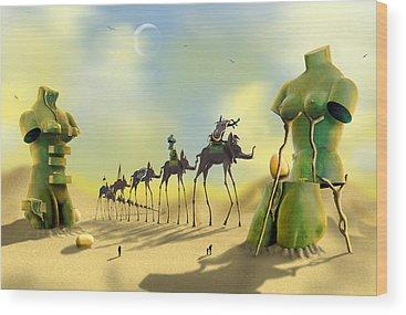 Ant Wood Prints