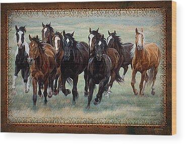 Equestrian Wood Prints