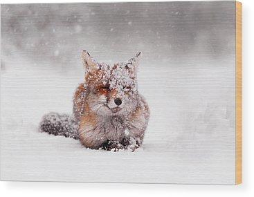 Winter Wonderland Wood Prints