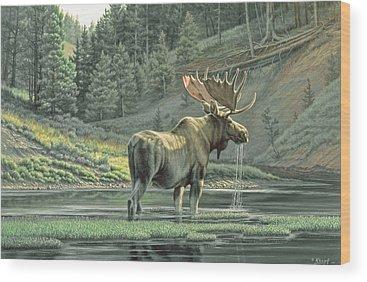Yellowstone Park Wood Prints
