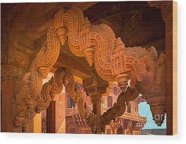 Fatehpur Sikri Photographs Wood Prints