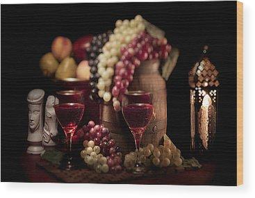 Candle Lit Wood Prints