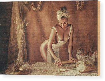 Buns Photographs Wood Prints