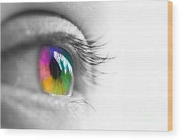 Optometry Wood Prints