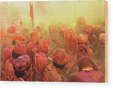 India Wood Prints