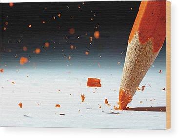Pencil Wood Prints