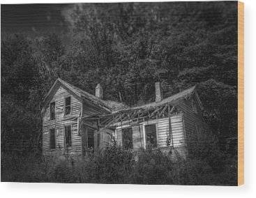 Abandoned House Wood Prints