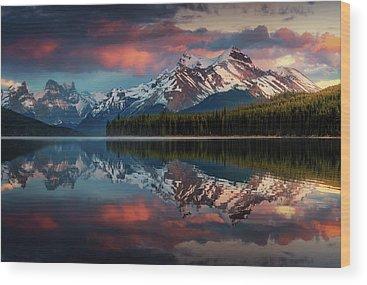 Lake View Wood Prints