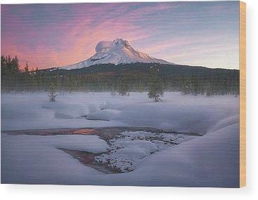 Mt. Hood Wood Prints