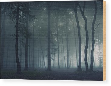 Darkness Wood Prints